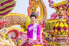 Blommafestival Arkivbilder
