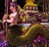 Blommafestival i Chiang Mai, Thailand arkivfoto