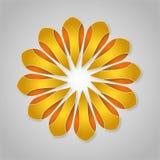 Blommaguling Royaltyfri Fotografi