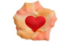 blommahjärta Royaltyfri Foto