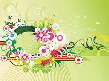 blommaillustration stock illustrationer