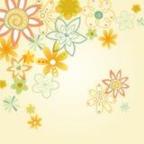 blommaillustration Royaltyfri Illustrationer