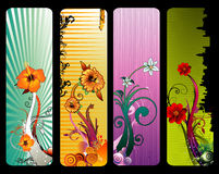 blommaillustrationvektor Arkivbilder