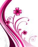 blommaillustrationvektor Arkivfoto
