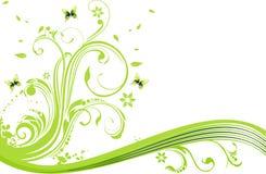 blommaillustrationvektor royaltyfri illustrationer