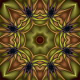 blommakiwi vektor illustrationer