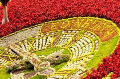 Blommaklocka i edinburgh Arkivfoton