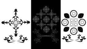 Blommakonst Blommor som svävar på vatten Royaltyfria Foton
