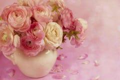 Blommakonstdesign. Gifta sig feriekort Arkivfoton