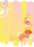 Blommakort Arkivfoto
