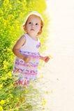 blommalitet barn Royaltyfri Foto