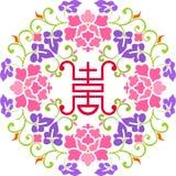 blommalycka stock illustrationer