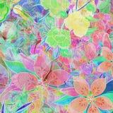 blommamix Arkivfoto