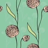 Blommamodell Arkivfoto