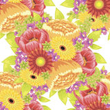 Blommamodell Royaltyfri Foto