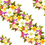 Blommamodell Royaltyfri Bild