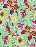 Blommamodell 41 Vektor Illustrationer