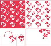 blommamodellpurple Arkivbild