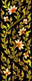 Blomman avbildar konstnärligt från thailändsk målning & litteratur Royaltyfri Fotografi