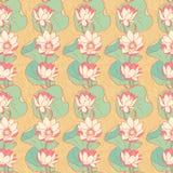 Blommande liljor Arkivbild