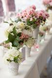 Blommaordningar Fotografering för Bildbyråer
