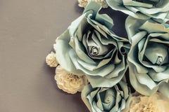 Blommaorigami Arkivfoto