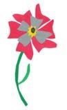 blommapapercraft Arkivbilder