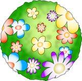 blommaplanet royaltyfri illustrationer