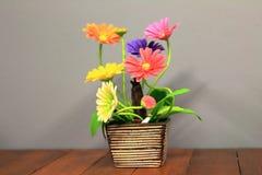 Blommaplast- Royaltyfri Fotografi