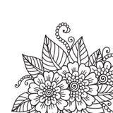 Blommaprydnad Arkivfoto