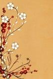 blommaprydnad arkivbilder
