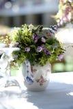 Blommaprydnad för att gifta sig händelse Royaltyfri Fotografi