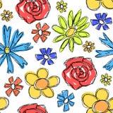 Blommar bakgrund Arkivbilder