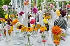 blommar drivhuset Fotografering för Bildbyråer