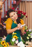 blommar försäljning Arkivbilder