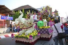 Blommar festival Arkivfoto