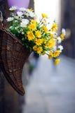 blommar gatan Arkivbild