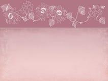 blommar girlanden Royaltyfri Fotografi