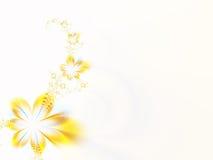 blommar girlanden Arkivbild