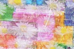 blommar glatt stock illustrationer