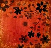 blommar grunge Royaltyfri Fotografi