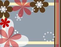 blommar gyckel royaltyfri illustrationer