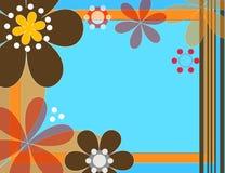 blommar gyckel stock illustrationer