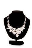 blommar halsbandet royaltyfri foto