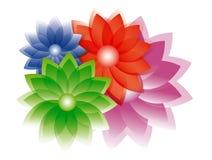 blommar illustrationen Fotografering för Bildbyråer