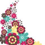 blommar illustrationvektorn Royaltyfria Bilder