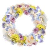 blommar kranen Arkivfoto