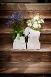 blommar lilan Arkivbild