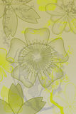 blommar lutning Royaltyfri Bild