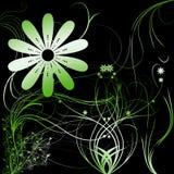 blommar lutning Arkivbilder